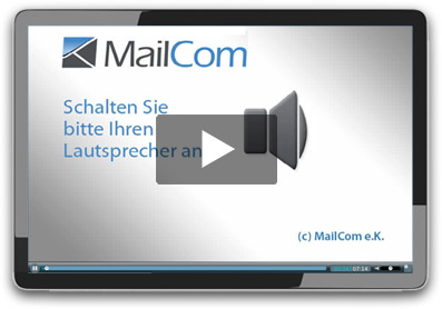 Tablet-PC mit Videoplayer